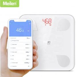 Smart weight Scale With Android & iOS App- Body Fat Composition Analyzer BMI with Bluetooth Connectivity (Meilen WS-180) in BD at BDSHOP.COM