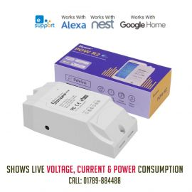 Sonoff POW R2 for AC, Motor, Pump with Live- Voltage, Current and Power Consumption 107642