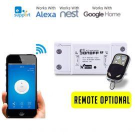 Sonoff RF- WiFi Wireless Smart Switch (Remote + Smartphone Control) 107589