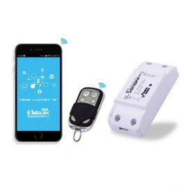 Sonoff RF WiFi Smart Switch With 433Mhz RF Remote Control 107574