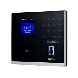 ZKTeco MB2000 Multi-biometric Time Attendance Terminal & Access Control Functions with Adapter 1007612