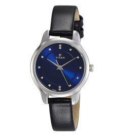 Titan Ladies Neo-Ii Analog Blue Dial Women's Watch-2481SL08 107404