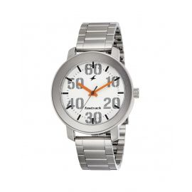 Fastrack Analog White Dial Men's Watch -NK3121SM01 1007469