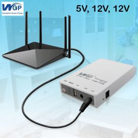 WGP Mini UPS - Router + ONU Backup up to 8 Hours ( 5V, 9V, 12 Volt Output ) in BD at BDSHOP.COM