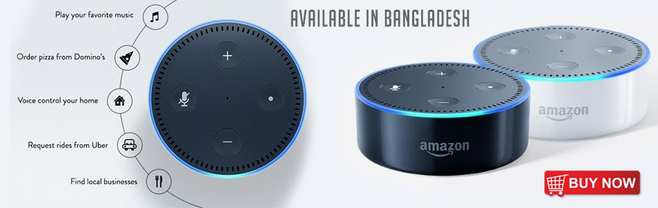 Buy Amazon Alexa Echo Dot 2 in Bangladesh